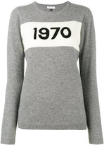Bella Freud 1970 intarsia sweater - women - Cashmere - S