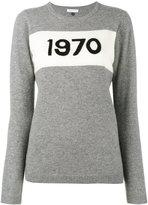 Bella Freud 1970 intarsia sweater - women - Cashmere - XS