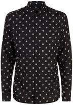 AllSaints Cody Polka Dot Shirt