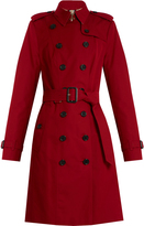 Burberry Sandringham long gabardine trench coat