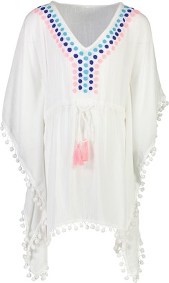 Snapper Rock Batwing Sleeve Caftan Cover-Up