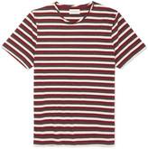 Oliver Spencer - Conduit Striped Mélange Cotton-jersey T-shirt