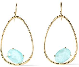 Ippolita 18-karat Gold Quartz Earrings