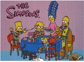 The Simpsons Fun rugs family breakfast rug - 3'3'' x 4'10''