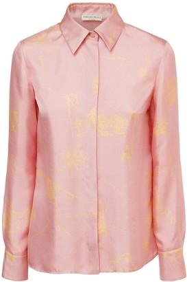 Emilio Pucci Printed Silk Twill Shirt