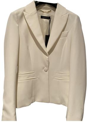 Mangano Blue Viscose Coats