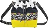 Proenza Schouler Medium Bucket Bag W/Pouch-Stripe Mix