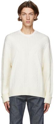 Neil Barrett Off-White Multi Knit Sweater
