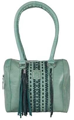 STS Ranchwear Marlowe Satchel (Charcoal) Handbags