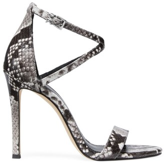 MICHAEL Michael Kors Antonia Python Embossed Sandals