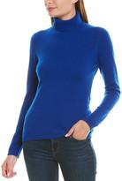 Qi Basic Turtleneck Cashmere Sweater