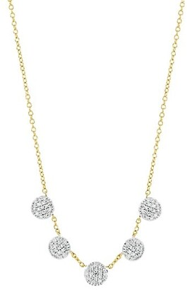 Phillips House Affair Diamond Infinity Micro Station Necklace