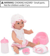 "Melissa & Doug Baby Doll, 12"" Annie Drink and Wet Doll"