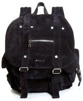 Balmain Suede Backpack