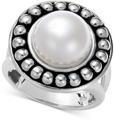 Honora Style Pearl Cultured Freshwater Pearl Ring in Sterling Silver (10-1/2mm)