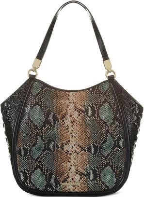 Brahmin Marianna Patchouli Embossed Leather Tote