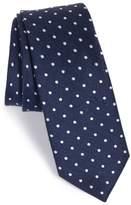 The Tie Bar Men's Dot Silk & Linen Tie