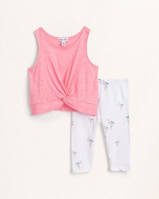 Splendid Toddler Girl Flamingo Legging Set