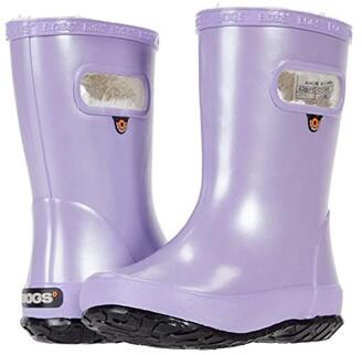 Bogs Skipper Metallic Plush (Toddler/Little Kid) (Lavender) Girl's Shoes