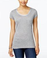 Calvin Klein Jeans Pocketed Metallic-Neck T-Shirt
