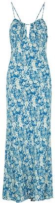 Free People Bon Voyage floral-print midi dress