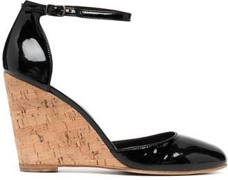 Tila March Vernis wedge sandals