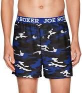 Joe Boxer Men's Winter Blues Loose Boxer
