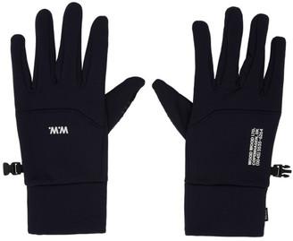 Wood Wood Navy Holger Gloves