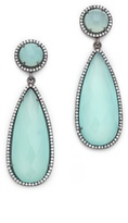 Susan Hanover ONE by Crown Double Drop Earrings