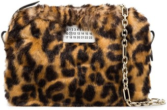 Maison Margiela Leopard-Print Mini Bag