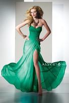 Alyce Paris B'Dazzle - 35442 Dress in Kelly Green