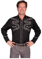 Scully Men's P-834 - Black Western Clothing