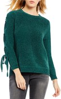 Gibson & Latimer Lace Up Sweater