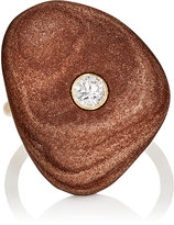 Cvc Stones Women's Cocoa Crater Ring