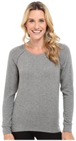 PJ Salvage Heathered Cut Out Sweatshirt