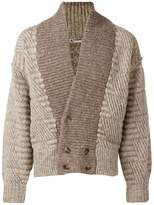 Issey Miyake Pre-Owned 1980's oversized cardigan