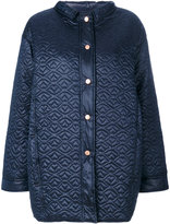 See by Chloe quilted sheen coat - women - Nylon/Polyester - 36