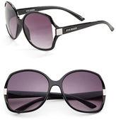 Steve Madden 57mm Round Sunglasses