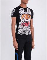 Philipp Plein Tiger Cotton-jersey T-shirt