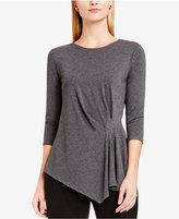 Vince Camuto Side-Ruched Asymmetrical Top, A Macy's Exclusive Style