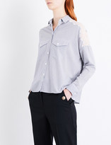 The Kooples Stripe-print woven shirt