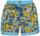 Marc Jacobs Children Boys Cheetah Swimmer Shorts