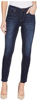 TWO by Vince Camuto - Indigo Undone Hem Five-Pocket Ankle Jeans in Dark Authentic Women's Jeans