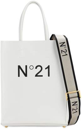 N°21 Small Printed Logo Pvc Shopping Bag