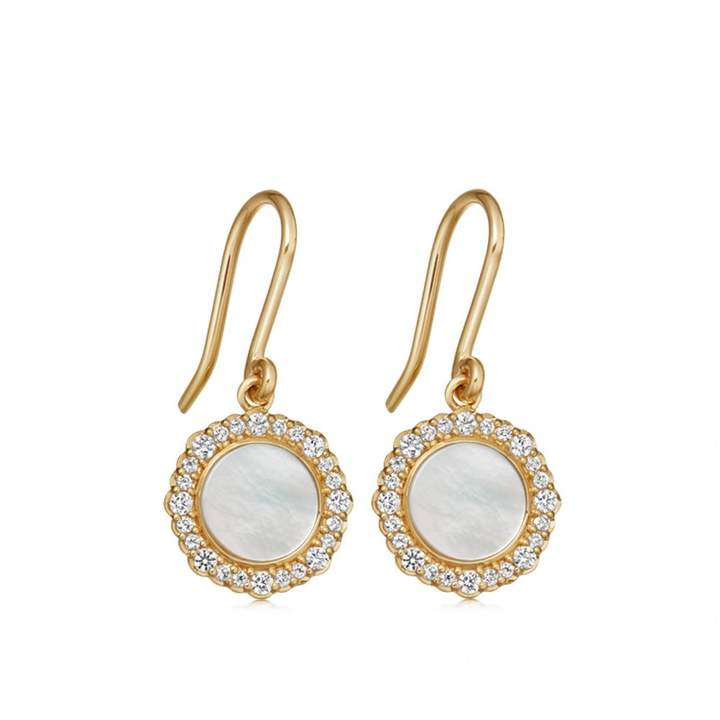 da93d32d9 Pearl Earrings Yellow Gold - ShopStyle Canada