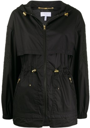 Escada Sport Storm-Flap Hooded Coat