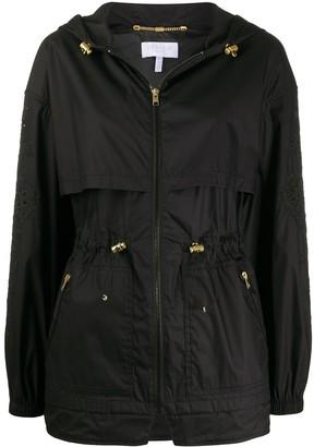 Escada Sport Storm-Flap Hooded Coat