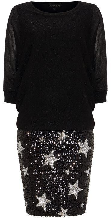 Phase Eight Geonna Star Sequin Dress