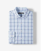 Express classic plaid cotton dress shirt