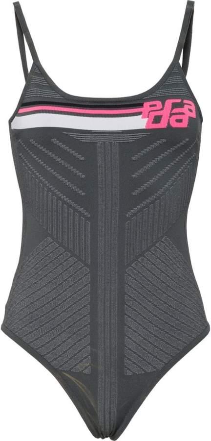 Prada intarsia knit bodysuit